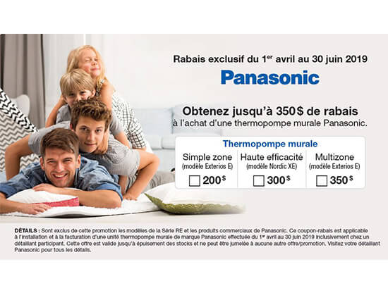 Promotion Panasonic